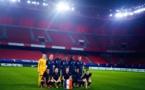 Les Bleues hier soir à Valenciennes (photo FFF)
