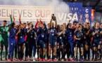 La sélection américaine victorieuse (photo US Soccer)