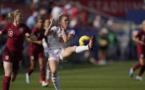 Mapi Leon et la défense espagnole n'ont pas cédé devant Ellen White (photo US Soccer)