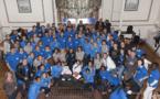 """BLEUES - Les supporters des """"Elles des Bleus"""" reçus à Clairefontaine"""