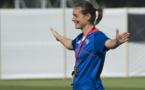 JO - L'entraînement des Bleues en images (5 août 2012)
