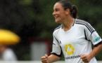 Sandrine Bretigny a disputé son premier match en Frauen Bundesliga