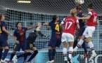 Arsenal a pris une nette option sur le terrain de Barcelone (photo FCB)