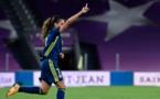 Le coup parfait de Majri a permis de faire le break (photo UEFA.com)