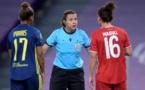 Cinq avertissements distribués par Kateryna Monzul dans un match engagé