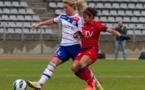 Amandine Henry a inscrit le seul but du match (photo W Morice)