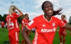 Asseyi tout sourire à Munich (photo FC Bayern)