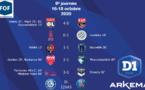 #D1Arkema - J6 : Le PSG suit l'OL, ISSY s'offre BORDEAUX, FLEURY accroche le PFC, MONTPELLIER et DIJON s'imposent