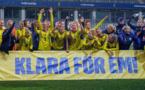 Les Suédoises fêtent leur qualification