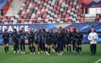 Les Bleues ont foulé le terrain ce jeudi soir (photo FFF)