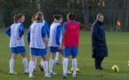 Les Bleues sont à Clairefontaine jusqu'à lundi matin (photo E Baledent/LMP)
