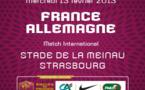 FRANCE - ALLEMAGNE : plus que quelques heures pour la billeterie