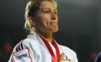 La judokate Frédérique Jossinet