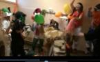 Insolite - Les filles de BOURG-PERONNAS (Ain) font leur harlem shake