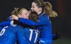 Gwenaëlle et Anaig joueront de nouveau un quart de finale (photo LMP/Eric Baledent)