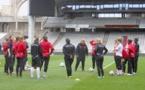 Ligue des Champions - Le FCF JUVISY s'est entraîné à Gerland
