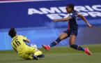 Sarah Bouhaddi aura été déterminante dans ce duel aller (photo UEFA.com)