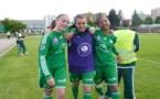 Aude Moreau et les Vertes affronteront l'OL en finale (Photo Thibault Simonnet)