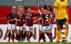 L'Allemagne a passé cinq buts à l'Australie (photo DFB)