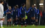 12 joueuses de la liste actuelle étaient du dernier succès face aux Etats-Unis en janvier 2019 (photo FFF)