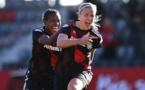 Hanna Glas, passeuse et buteuse lors de cette demi-finale aller (photo UEFA.com)