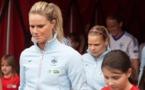 Amandine Henry avait fait son retour en Bleue samedi dernier contre la Finlande (photo E Baledent/LMP)