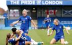 Les Blues disputeront leur première finale européenne face à Barcelone (photo UEFA.com)