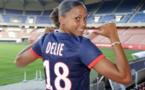 Marie-Laure Delie de retour au PSG (photos PSG.FR)