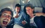L'équipe d'Eurosport a déjà pris son envol avec Romain Balland, Thomas Bihel et Candice Prévost (photo DR)