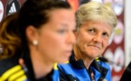 Euro 2013 - Pia SUNDHAGE (Suède) : « Nous devons supporter la pression »