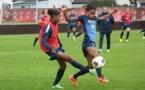 Deuxième séance pour les Bleues sur le terrain d'entraînement de Norrköping (photo Sébastien Duret)