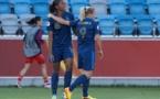Marie-Laure Delie a marqué ses 46e et 47e buts en Bleue (Photos : Eric Baledent)