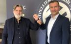 Laurent Nicollin et Yannich Chandioux (photo MHSC)