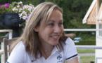 Sabrina Delannoy se méfie de l'Angleterre (Photo : Eric Baledent)