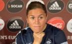 Compétitrice, Camille Abily ne lâchera pas le match (photo Eric Baledent)
