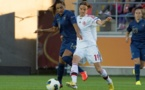 Louisa Necib a égalisé sur penalty à la 71e minute (Photo : Eric Baledent)