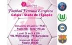 Ladies First Cup - Suivez en live vidéo PSG - Inter Milan (17h30)