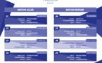 Championnat U19 - Les calendriers des rencontres de la 1re phase