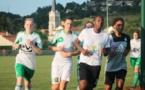 Les Vertes ont repris l'entraînement le 7 août (Photo : ASSE féminine)