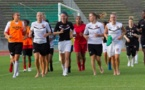 Juvisy a repris l'entraînement le 5 août avec six nouvelles recrues (Photo : William Morice)