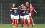 Les Bleuettes ont assuré leur victoire en quatre minutes (photo FSS)
