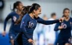 Amel Majri offre la victoire dans les arrêts de jeu (photo FFF)