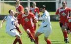 Marie-Pierre Castera frappe à tous les matchs avec Sainte-Christie