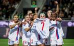 Les joueuses ont rendu hommage à Amel Majri qui s'est blessée vendredi dernier et manquera tout le reste de la saison (photo UEFA.com)