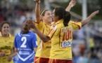 Floqué avec le numéro 100, Marta sous les couleurs de Tyresö