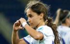Lorena Navarro a été la plus prompte pour marquer le seul but de la rencontre (photo Real Madrid)