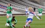 Aude Moreau et l'ASSE recevront Lyon à Geoffroy Guichard (photo Alex Ortega)
