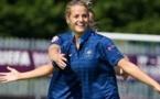 Le MHSC et sa jeune néo-bleue, Sandie Toletti, afficheront à nouveau de belles ambitions cette année (Photo : uefa.com)