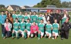 Les Thoréfoléennes font la découverte du championnat de foot à sept.