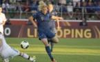 Eugénie Le Sommer lors de l'Euro (photo Eric Baledent)